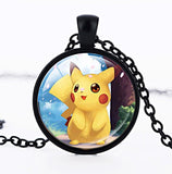 Pokemon Series Pikachu Time Gem Necklace