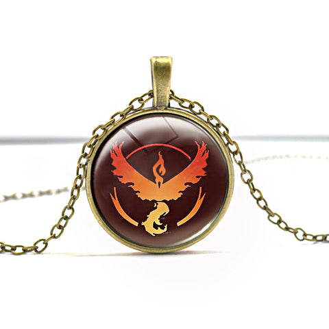 Pokemon Go Series Ho-Oh  Necklace