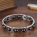 Classic Titanium Steel Bangle for Men