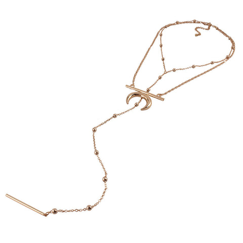 Moonlight Mile Copper Choker Necklace