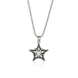 Pentagon's Shield Titanium Steel Necklace