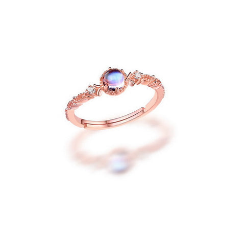 Princess Multi-colour Gemstone Gold Plated Ring