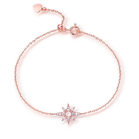 Love Bracelet Adorned with Star