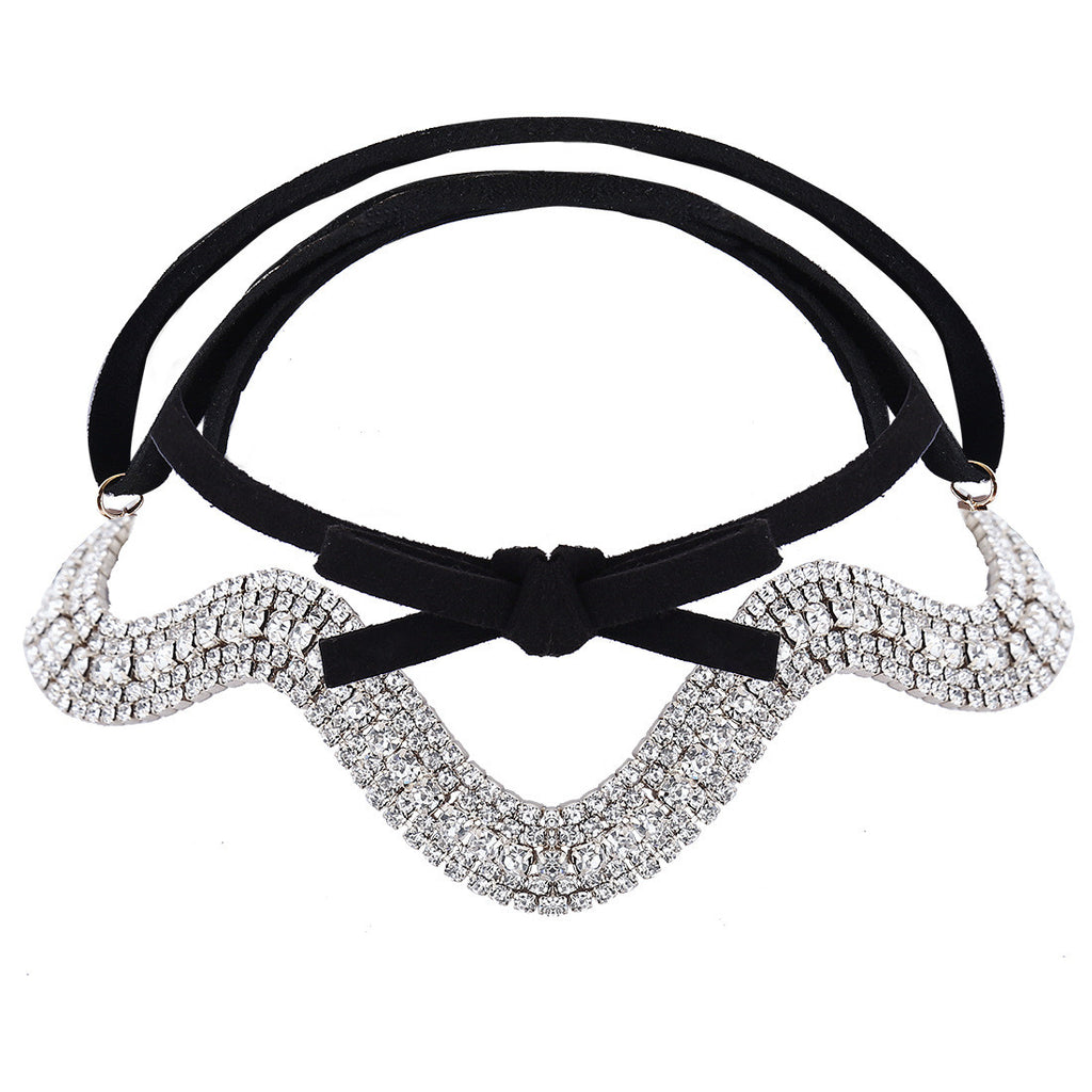 Punk Style PU Leather Choker Necklace