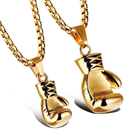 Cestus Titanium Pendant Couple Necklaces