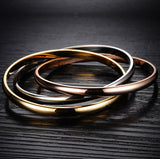 Women's Bangles Party Three Pieces In One Alloy Assorted Color
