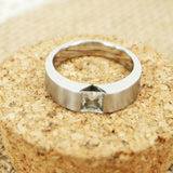 Personalized Titanium Steel Ring Band For Men