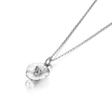Time River Pearl 925 Sterling Silver Pendant Necklaces