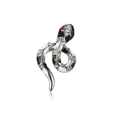 Cold in Heart Snake Stud Earrings