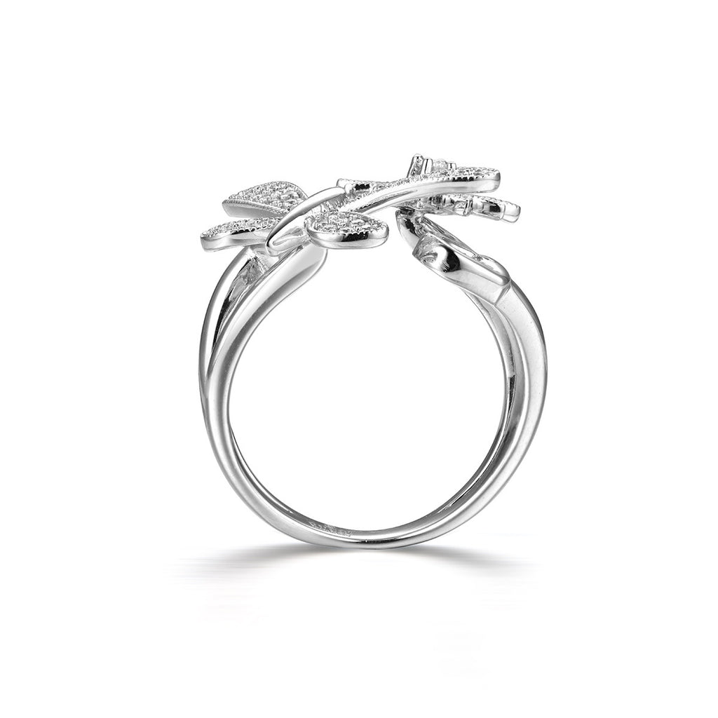 a59db2dea Love of Butterfly Ring in Sterling Silver – EverMarker