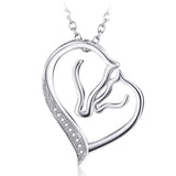 Keep Me in Your Heart Pendant Necklace