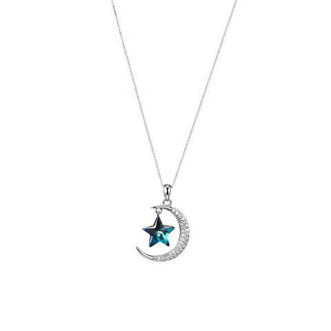 Sleeping on the Tender Moon Necklace