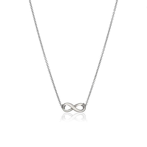 Lucky Infinite Love Circle Pendant Necklace for Women