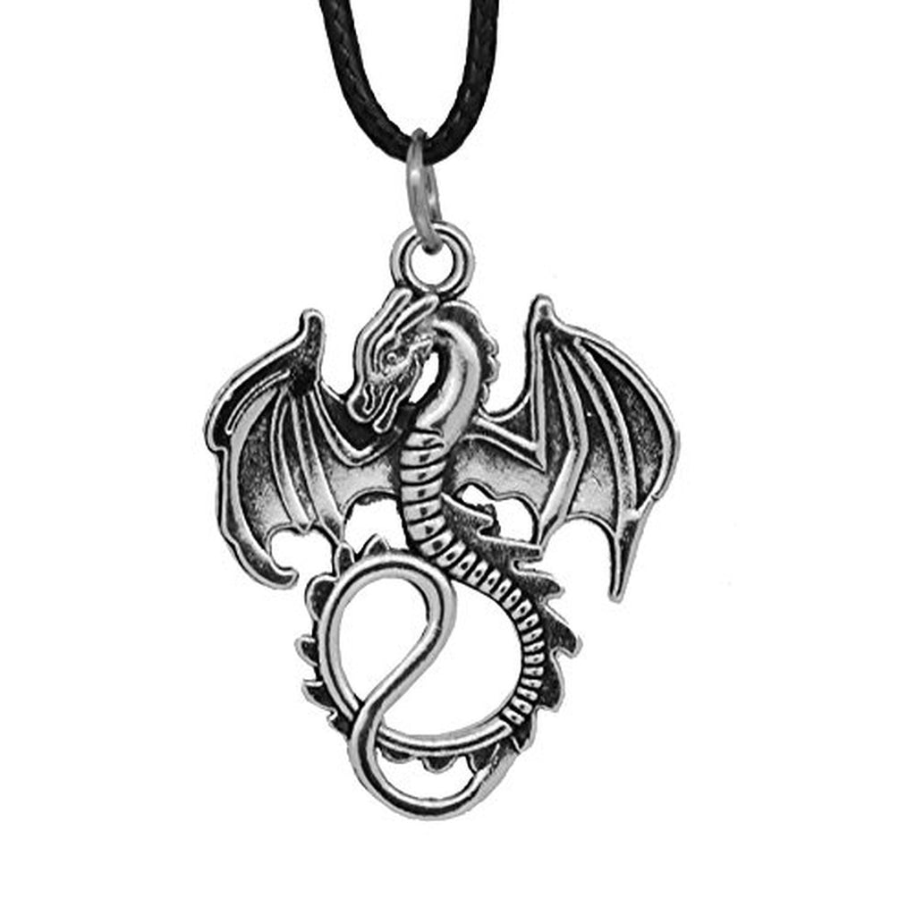 Game of Thrones Dragon Couple Necklaces Best Friend Necklaces ...