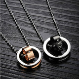 Circle & Circle Lover Necklaces