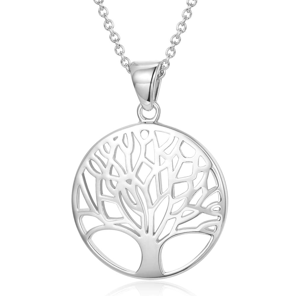 Tree of Life Minimalist Pendant Necklace