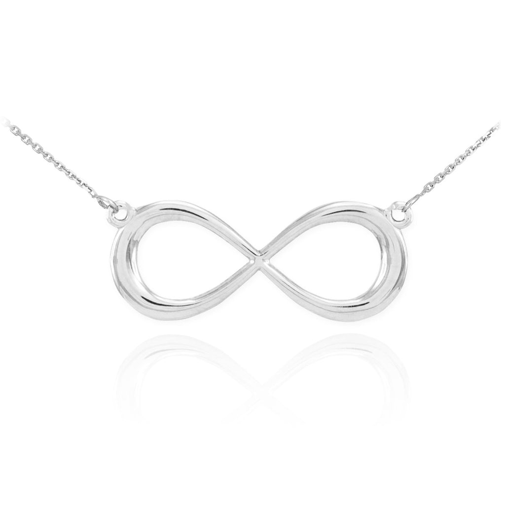 925 Sterling Silver Dainty Forever Infinity necklace