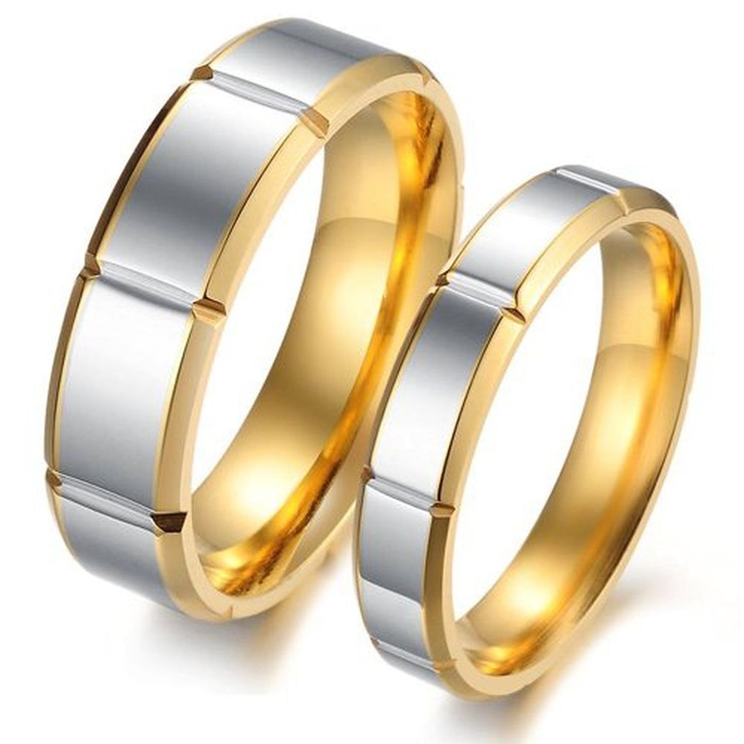 real men wood rings for malu band titanium wedding koa inlay with