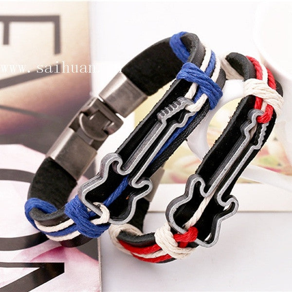 fashion-leather-guitar-couple-bracelet-retro-valentine-hand-chain-547d0c439719cd0a98b96317