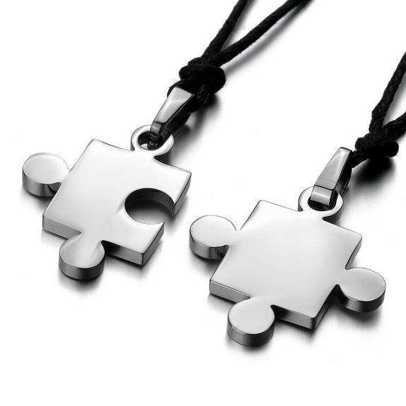 menwomens-2pcs-stainless-steel-pendant-necklace-cz-silver--black--blue-jigsaw-puzzle-love-valentines-couples-his--hers-54bcf2f6d7df3c093bf498ab