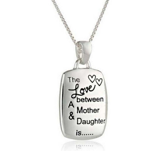 Amazing ''The Love between A Mother & Daughter is'' Necklace