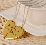 BEST BITCHES Relationship Lovers Necklaces