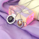 """Keep Me In Your Heart"" Ring Pendant Lover's Couple Necklaces"
