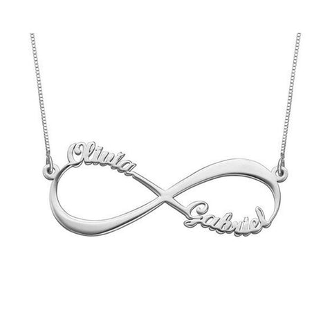 Eternal Infinity 925 Sterling Silver Necklace
