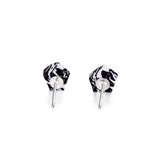 Little Boulder Stud Earrings