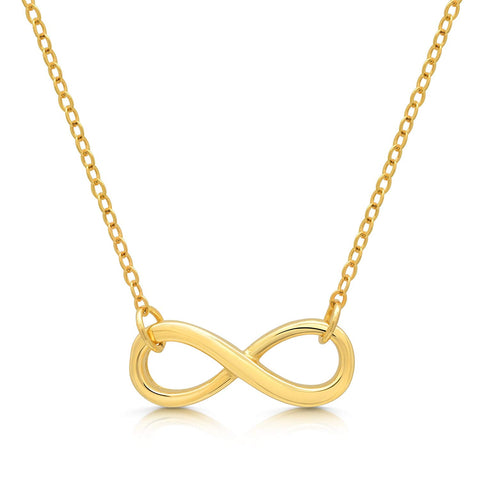 Infinity 925 Sterling Silver Necklace