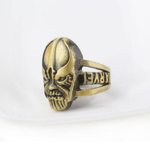 Mask of Thanos Avengers Men's Ring