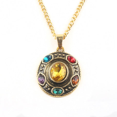 Thanos's Infinity Gauntlet Avengers Pendant Necklace