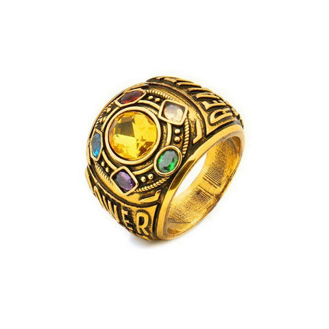 Infinity Gauntlet Avengers Men's Ring