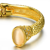 Gold Strength Cuff Bracelet