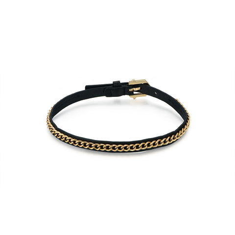 Gold Rings Connection Bracelet