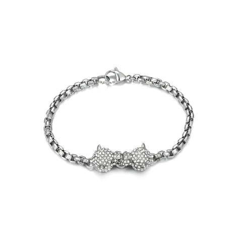 Leopard Head Chain Bracelet