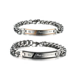 Personalized Keep Me in Your Heart Couple Bracelets