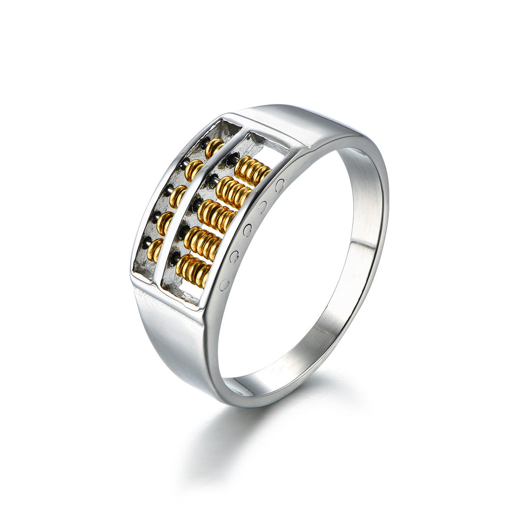 Abacus Series Titanium Steel Ring