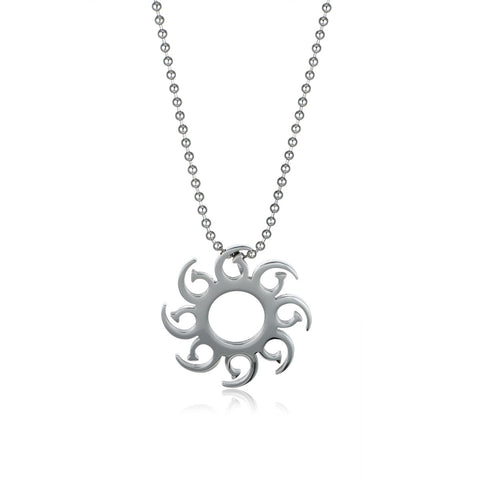 Fly Steam Titanium Steel Men's Necklace