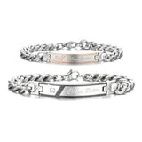 Personalized True Love Couple Bracelets