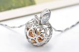 Forbidden Fruit Silver Pendant Necklace