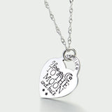 How Much I Love You Pendant Necklace