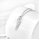 Angel's Wing Pendant Necklace