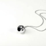 Round Ball Pendant Necklace