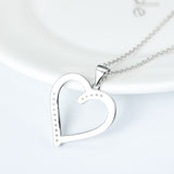Sterling Silver True Love Pendant Necklace