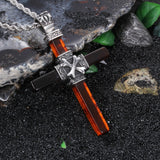 Angle and Evil Devil Men's Necklaces