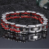 Simple Drive-chain Pattern Titanium Steel Men's Bracelet