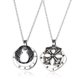 |Forever Lover| Pendant Couple Necklace