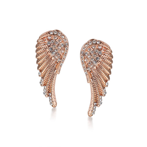 Wing of Angel Stud Earrings