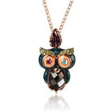Night Owl Pendant Necklace